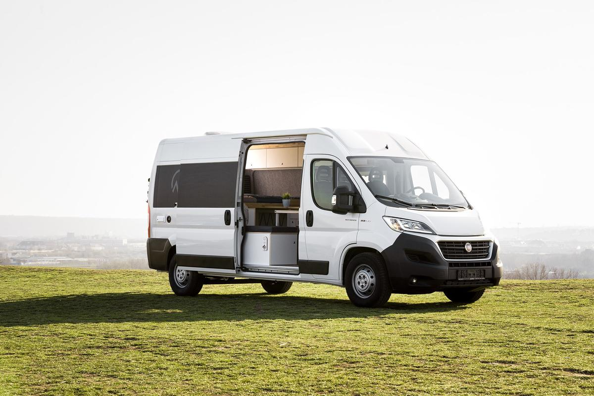 It's called a Concept Camper, but the package from Germany's Vanlife Manufaktur is available to add to Sevel vans