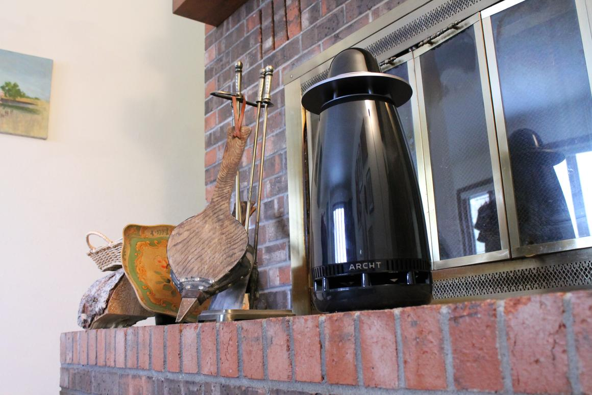 Archt One delivers even, omnidirectional sound(Photo: Eric Mack/Gizmag)