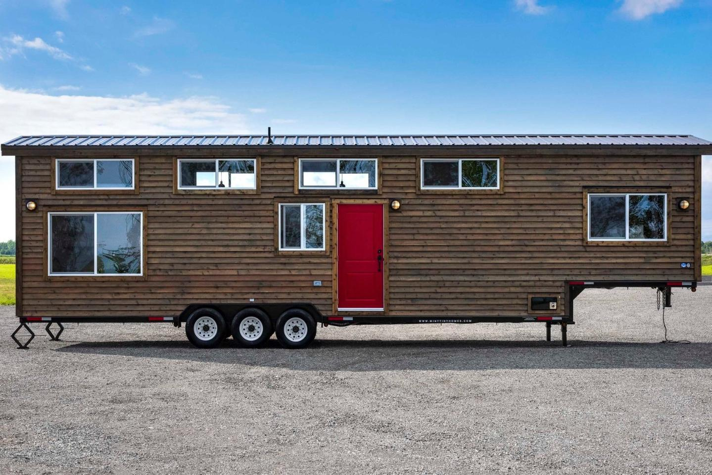 The Canada Goose has a total floorspace of around 400 sq ft (37 sq m) and is one of five tiny houses that we're highlighting in our look at huge ho