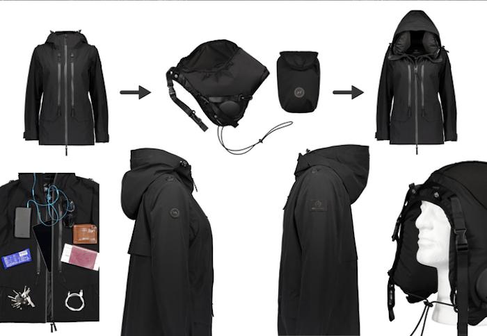 Worldwide patented innovation: The inner hood + 4 straps