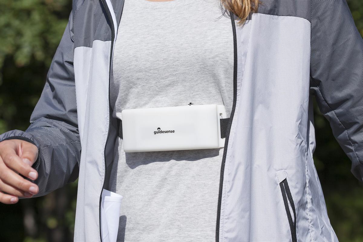 VTT's radar-based Guidesense wearable gives the visually impaired more ability to perceivetheir surroundings