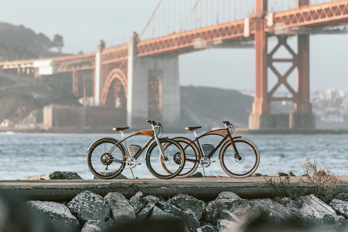 The 2020 Cafe commuter color schemes are named after northern California scenery