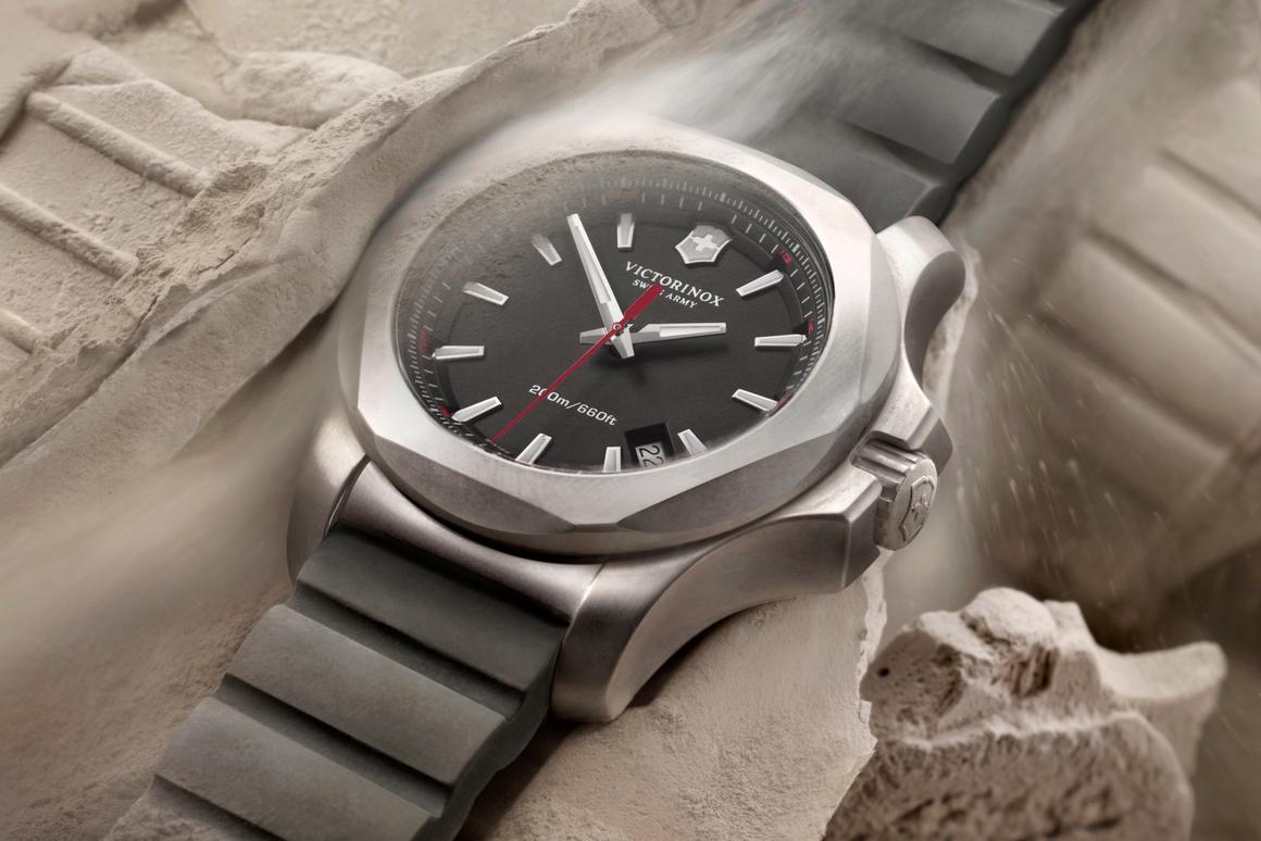 The Inox rugged watch from Victorinox