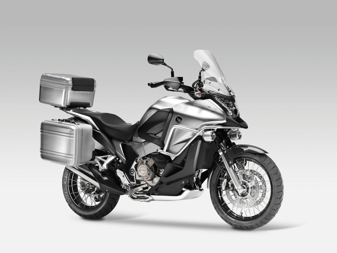 Honda Announces New V4 Adventure Sports Tourer The Crosstourer