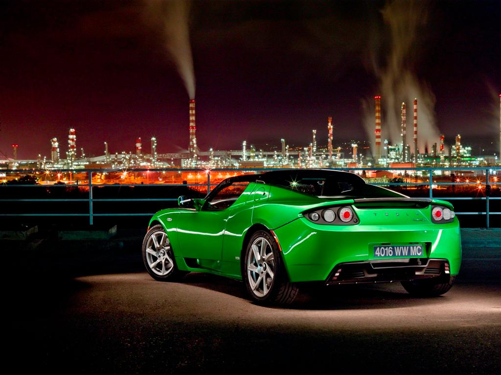 The Tesla Roadster's battery has been upgraded to a 70 kw/h unit