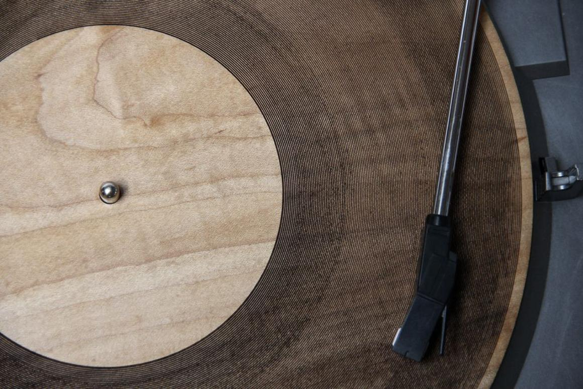 Amanda Ghassaei recently programmed a laser cutter to carve playable records from wood and other materials