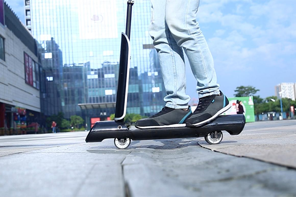 Untubed, the GoTube offers up to 7.5 miles (12 km) of range