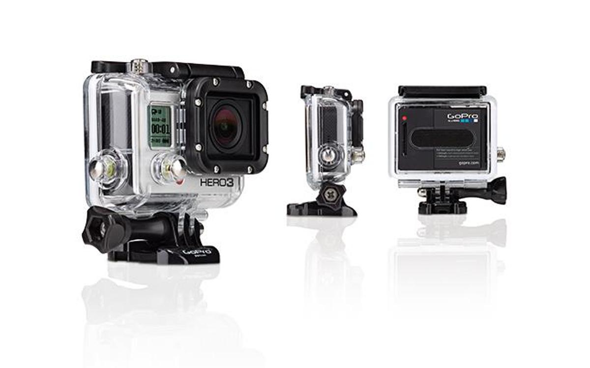 GoPro has launched its line of HERO3 actioncams, which includes one model that can shoot at a resolution of 4K