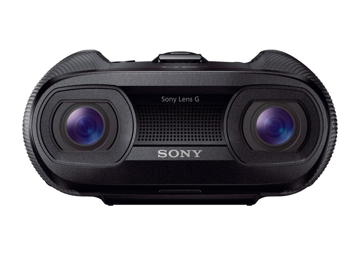 Sony's new DEV-50V electronic binoculars and smaller and more powerful than their predecessors