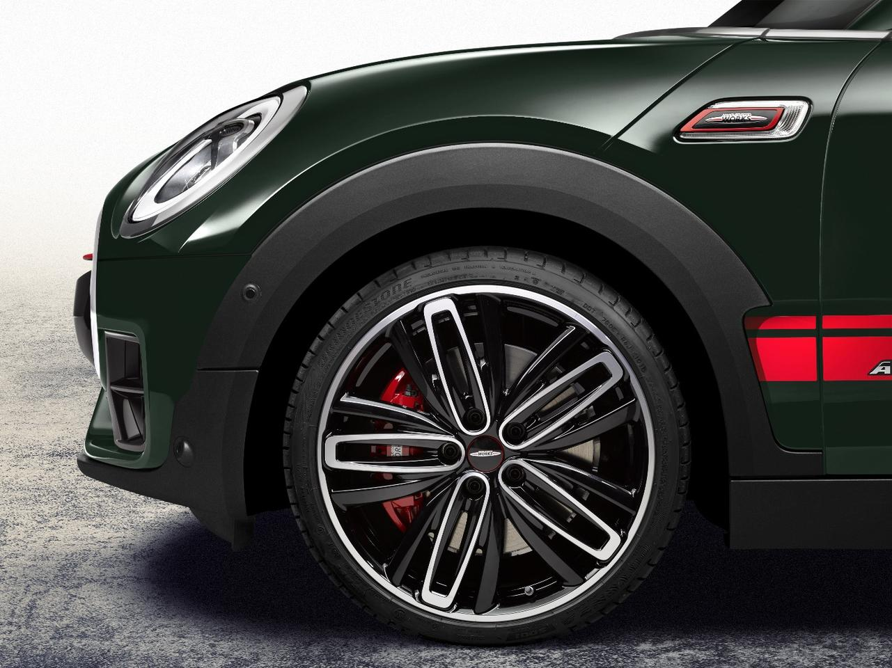 This third wheel option for the Clubman is new for this year