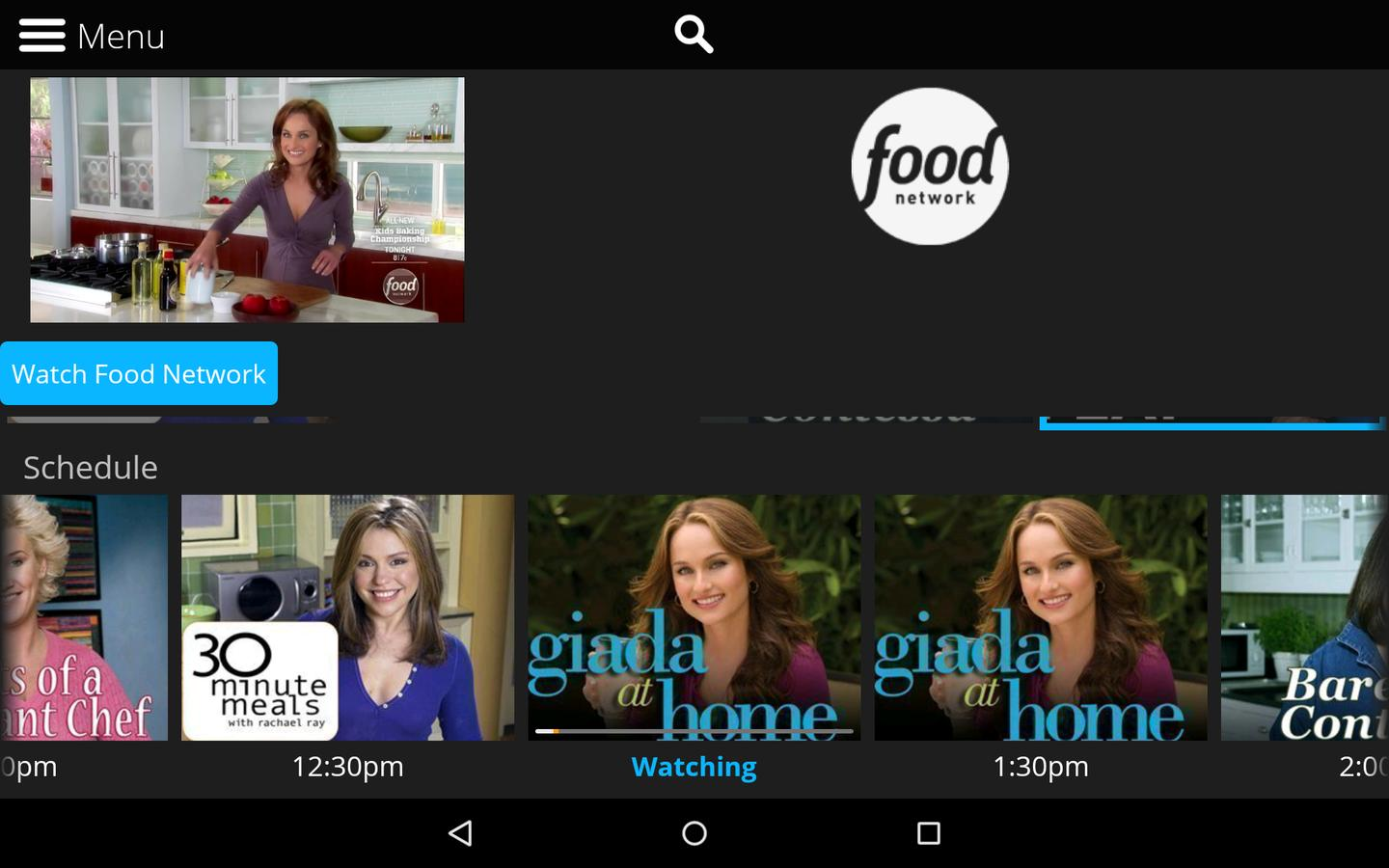 A few networks offer shows on demand