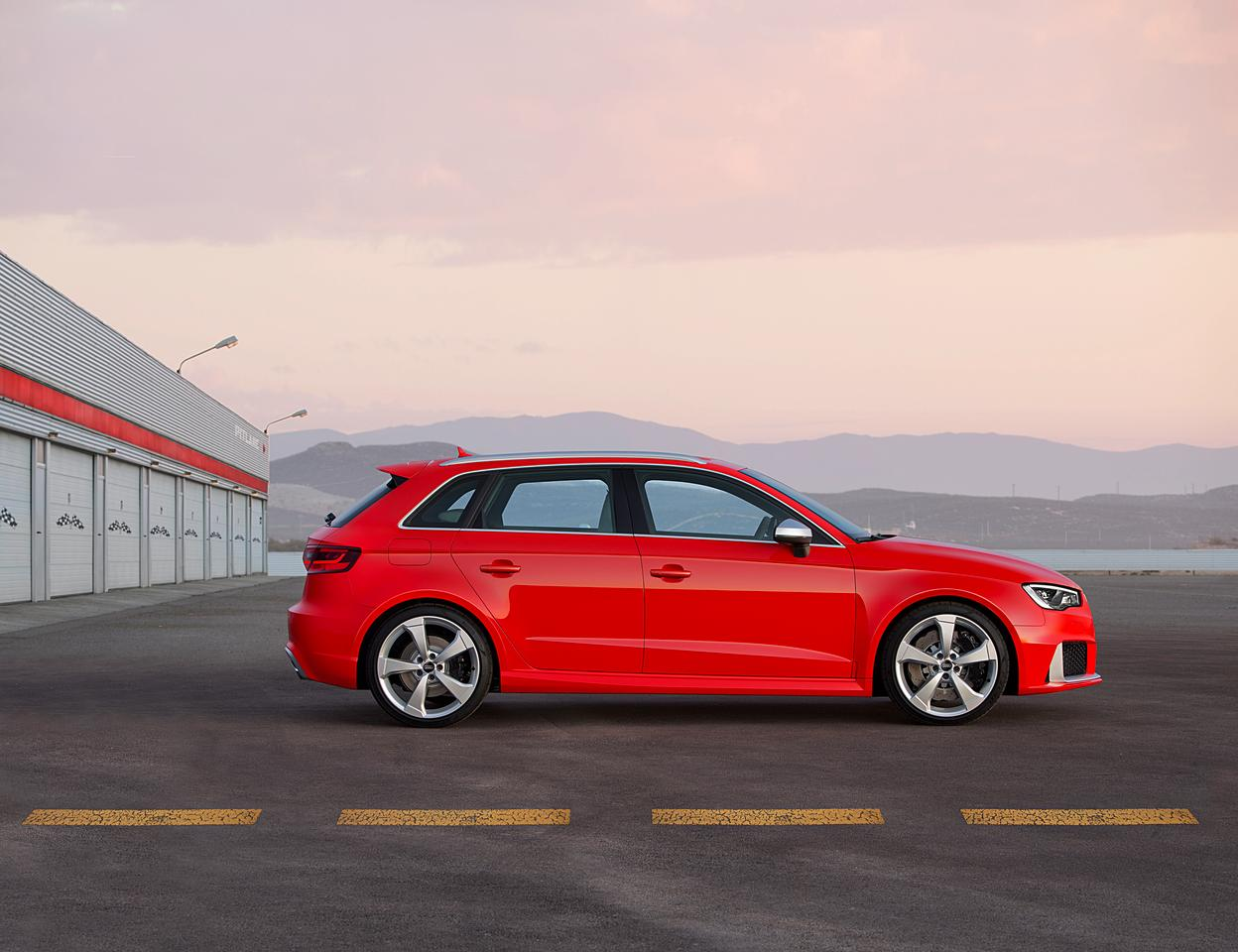 The RS3 is Audi's hottest hatch