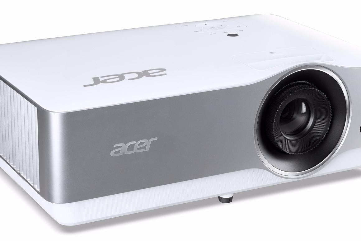 The Acer VL7860 DLP projector is capable of throwing 4K resolution at up to 120 diagonal inches