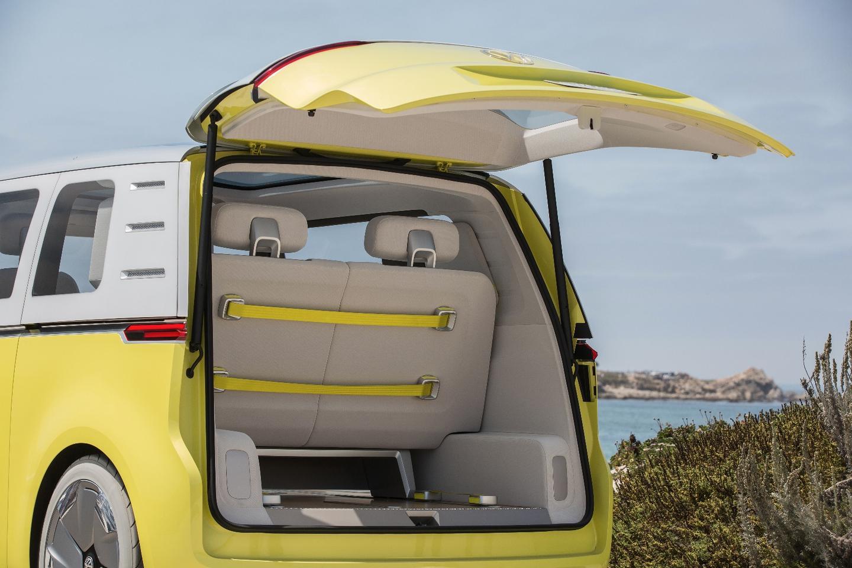 Volkswagen I.D. Buzz: rear storage capacity