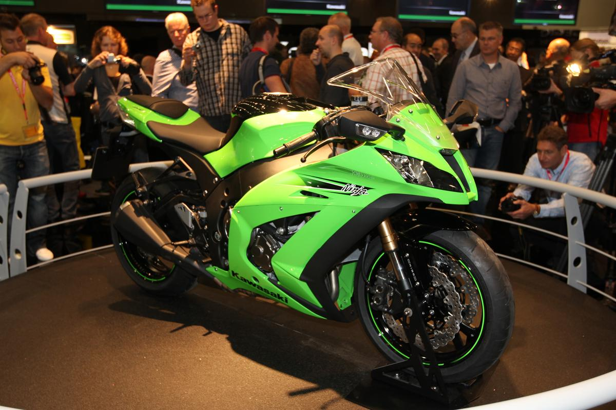 The 2011 Kawasaki Ninja ZX-10R