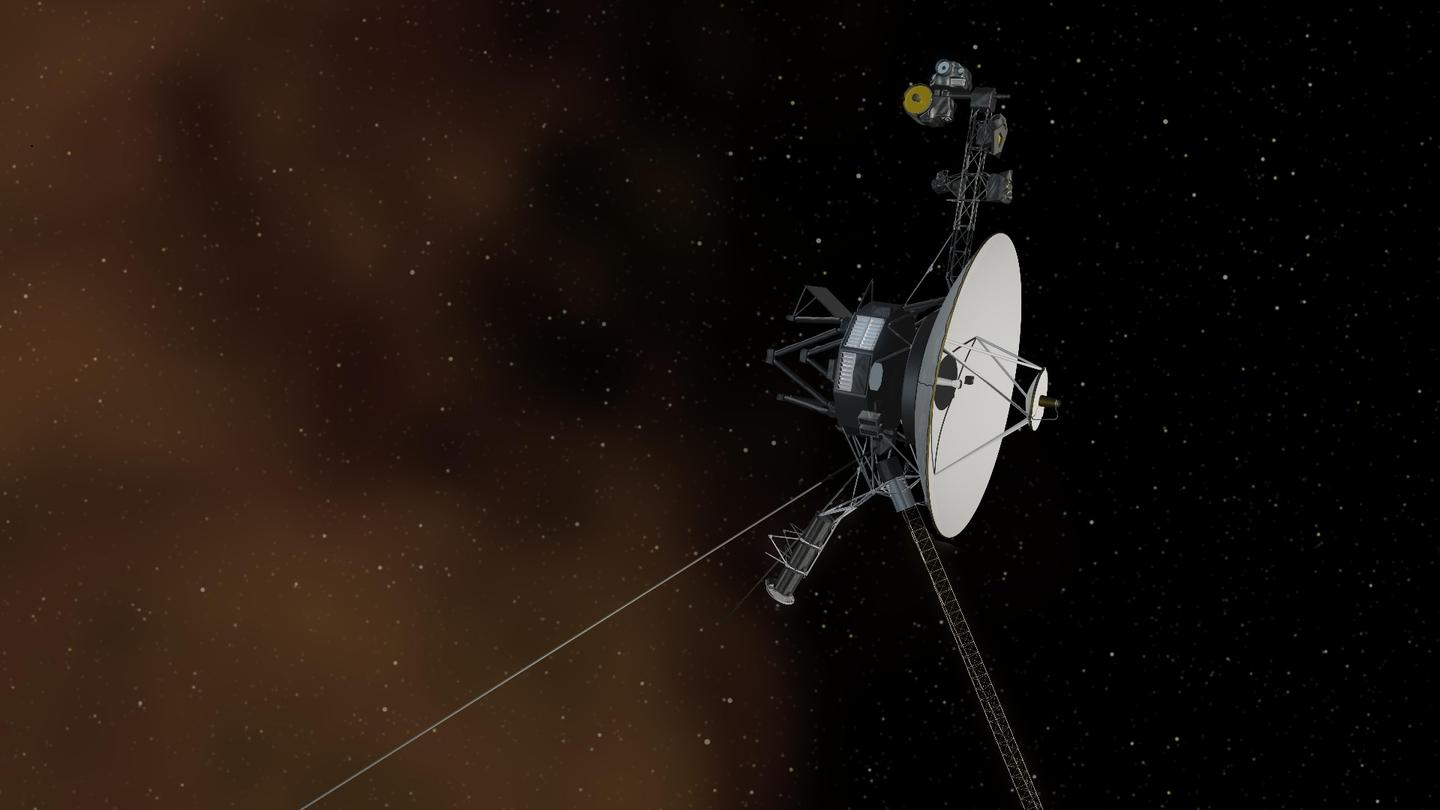 Artist's concept of Voyager 1