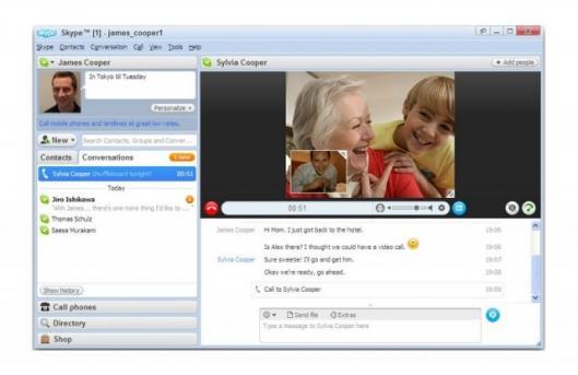 Skype 4.0 released