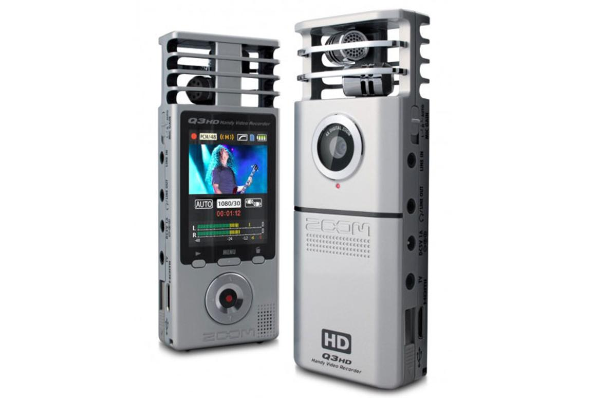 Zoom Q3HD Handy Video Recorder released