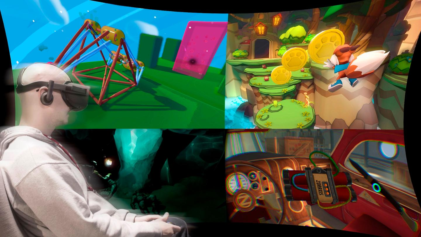 The Oculus Rift's selection of launch (window) games is awesome