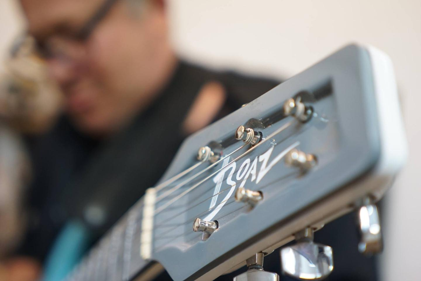 Luthier Boaz Elkayamfirst teased the One modular guitar in April, 2018