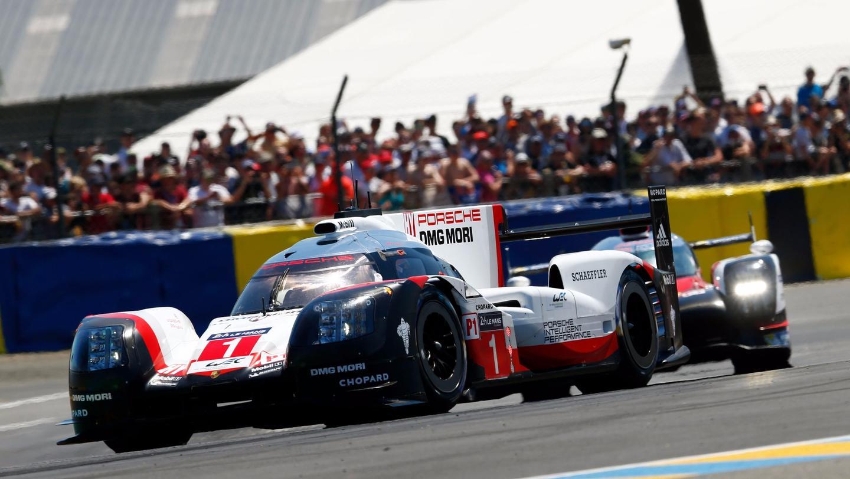 The #01 Porsche 919 Hybrid didn't survive Le Mans