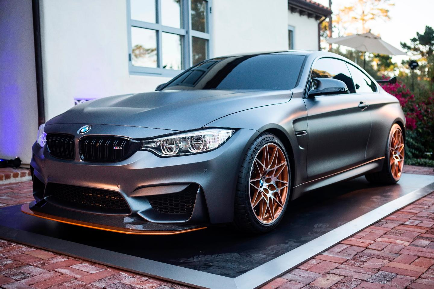 BMW's latest concept car makes use of a water injection system for performance gains