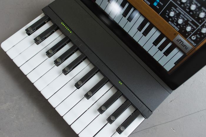 The C.24 features physical keys and a capacitive ribbon controller for expanded options