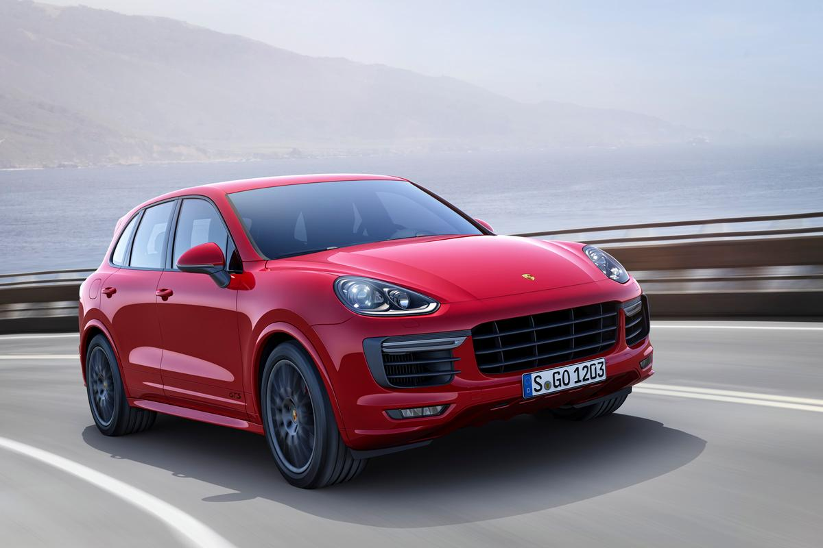 Porsche's Cayenne GTS SUV is powered by a new turbocharged V6 engine
