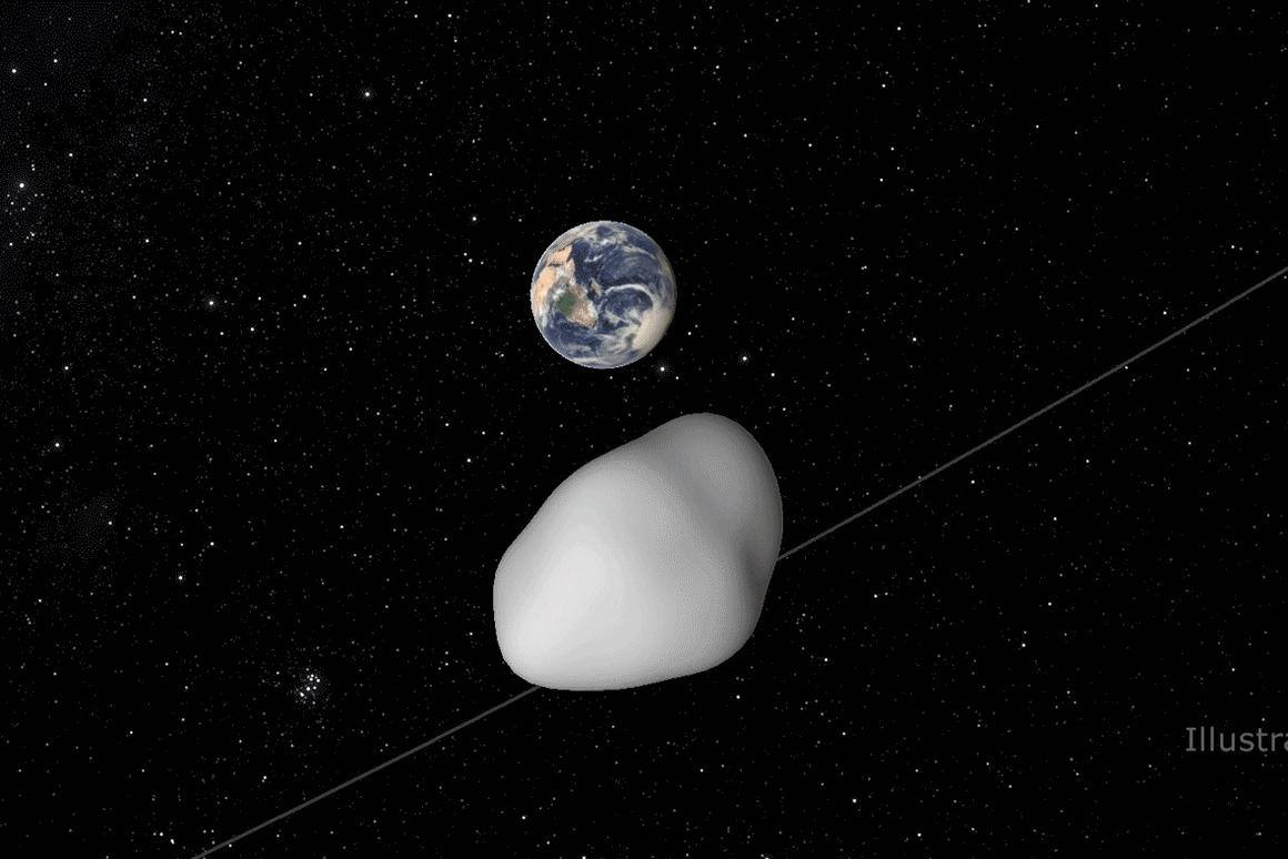 NASA is using the approach of asteroid 2012 TC4 to test its detection and tracking systems for Near-Earth Objects