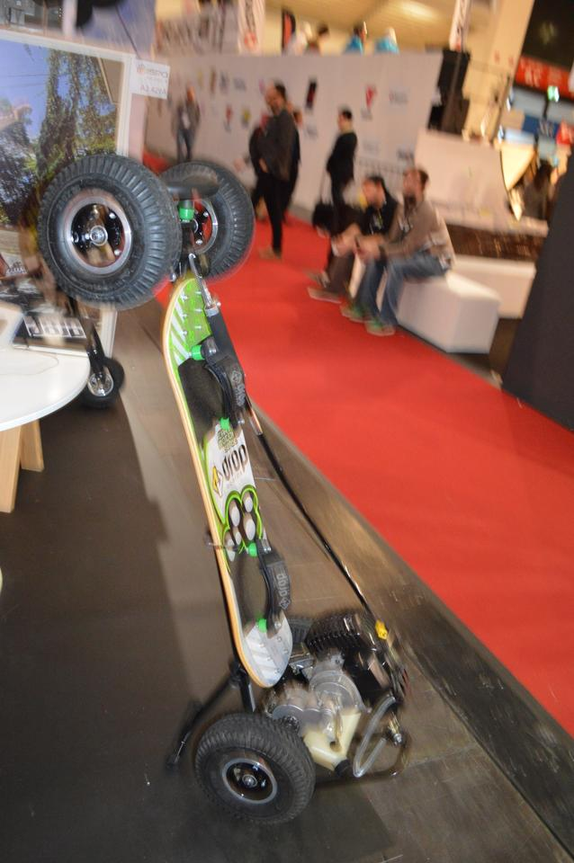 The Carve Motor 50cc at ISPO