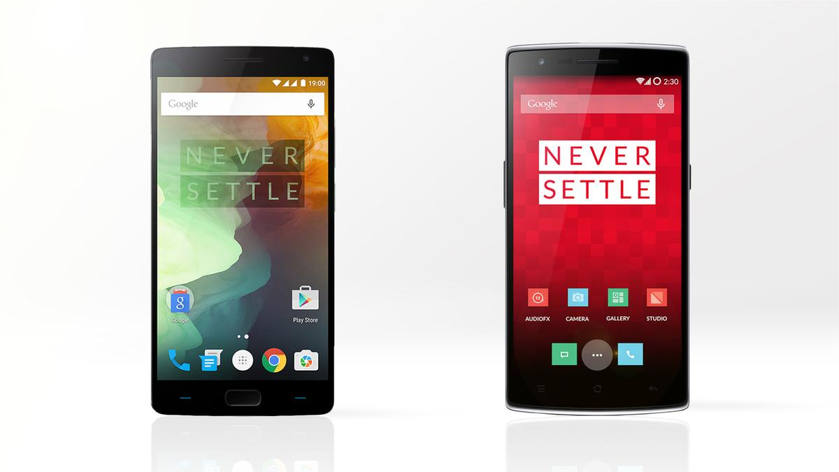 Gizmag compares the features and specs of the 2015 flagship OnePlus 2 (left) and the 2014 version, the OnePlus One