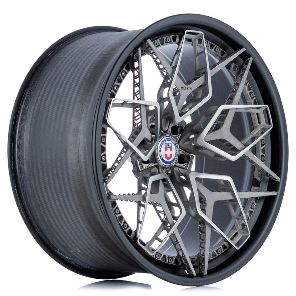 The complete HRE3D+ wheel