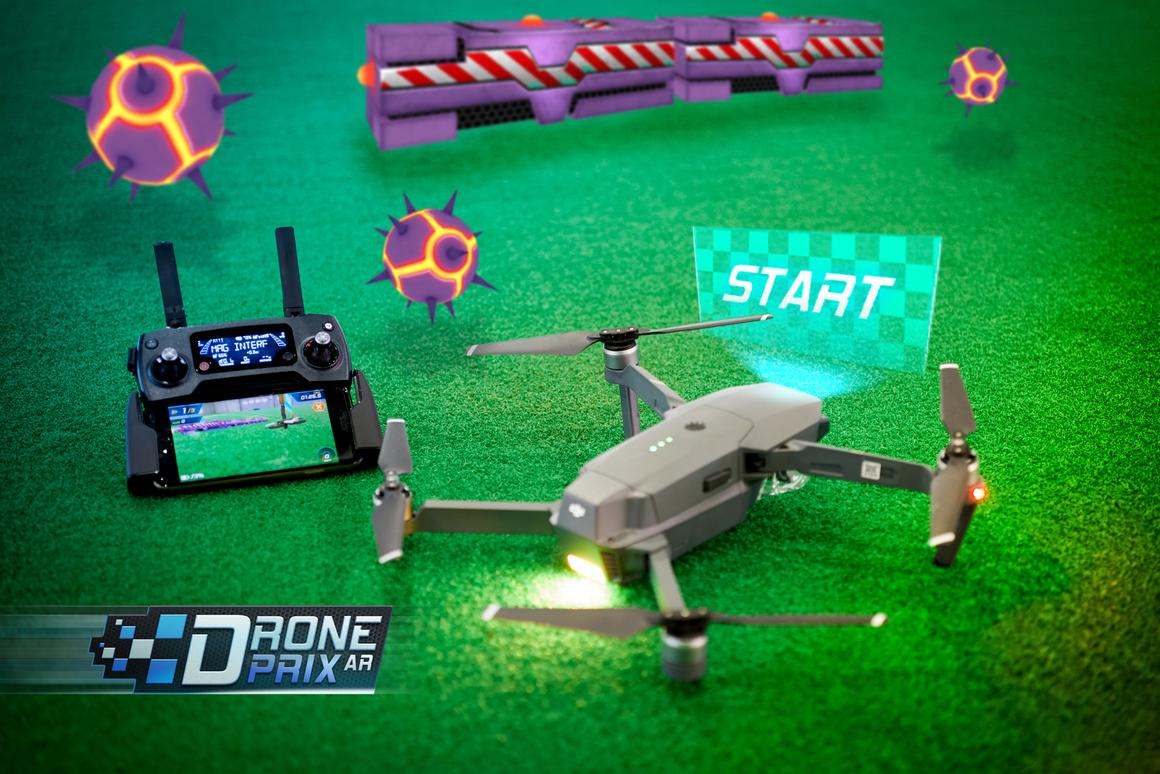 DronePrix AR aims to teach people how to fly their drones with some augmented reality to make things more interesting