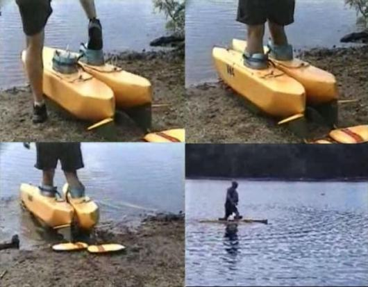 Walking On Water Invention