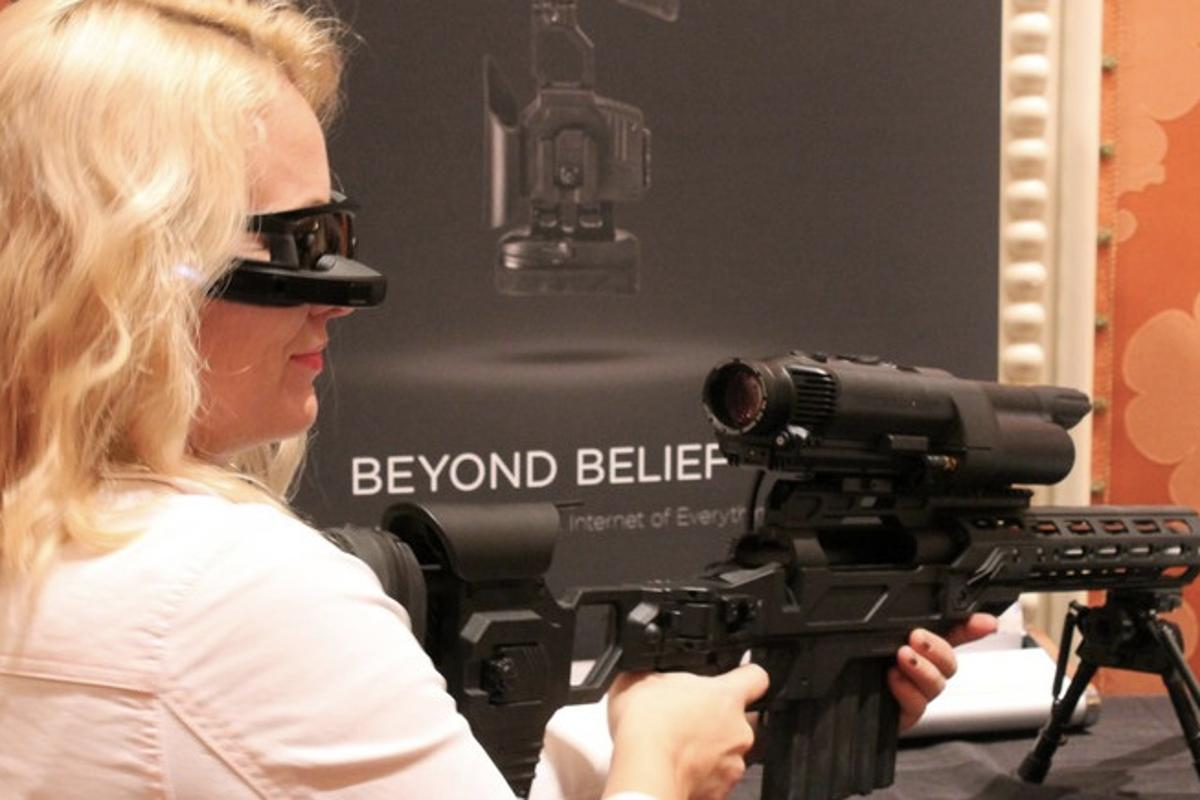 Gizmag fires up some of the wackiest, most niche or not-ready-for-primetime wearables we ran across at CES 2015 (Photo: Eric Mack/Gizmag.com)