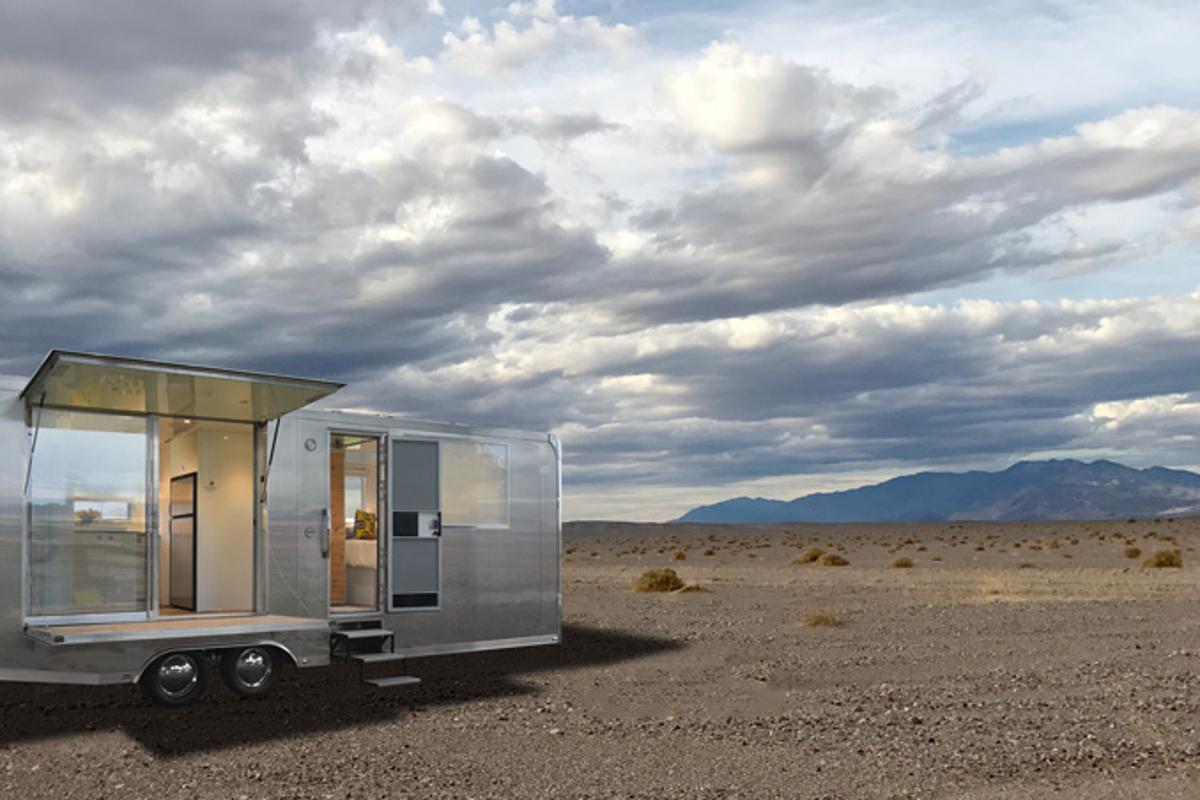 The Living Vehicle has the capacity to sleep six