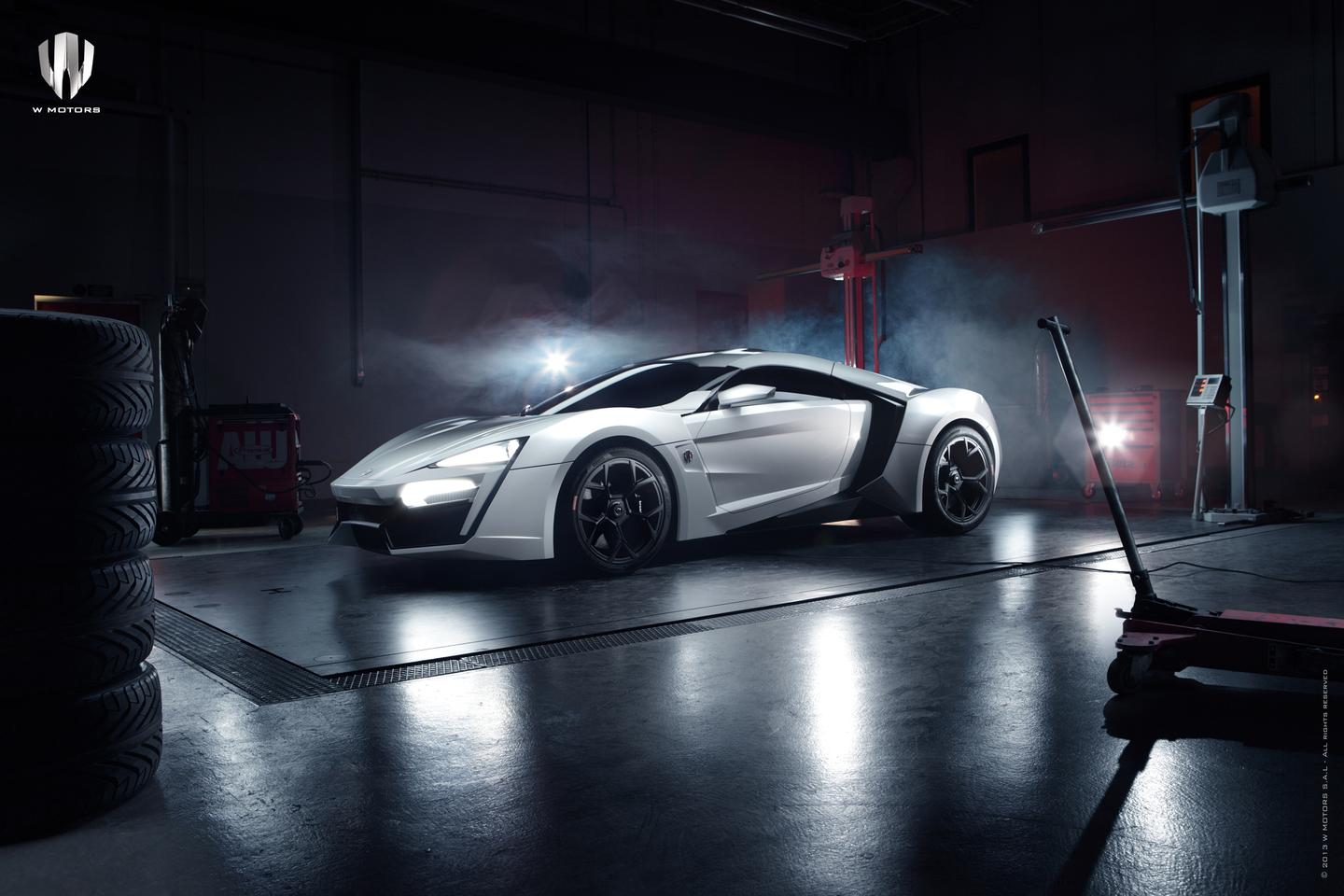 The $3.4 million Lykan Hypersports from W Motors