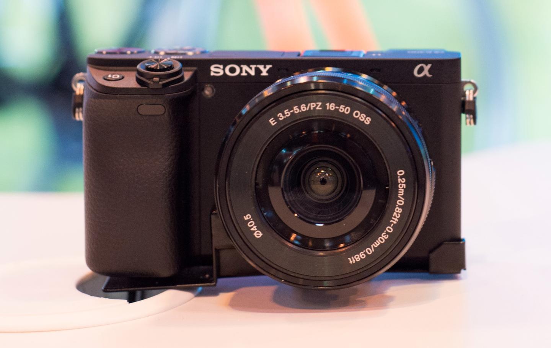 The Sony A6300 features a 24-megapixel CMOS image sensor