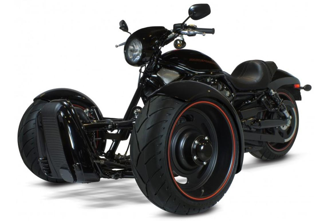 Scorpion Trikes want to let you turn your Harley-Davidson V-rod into a three-wheeler
