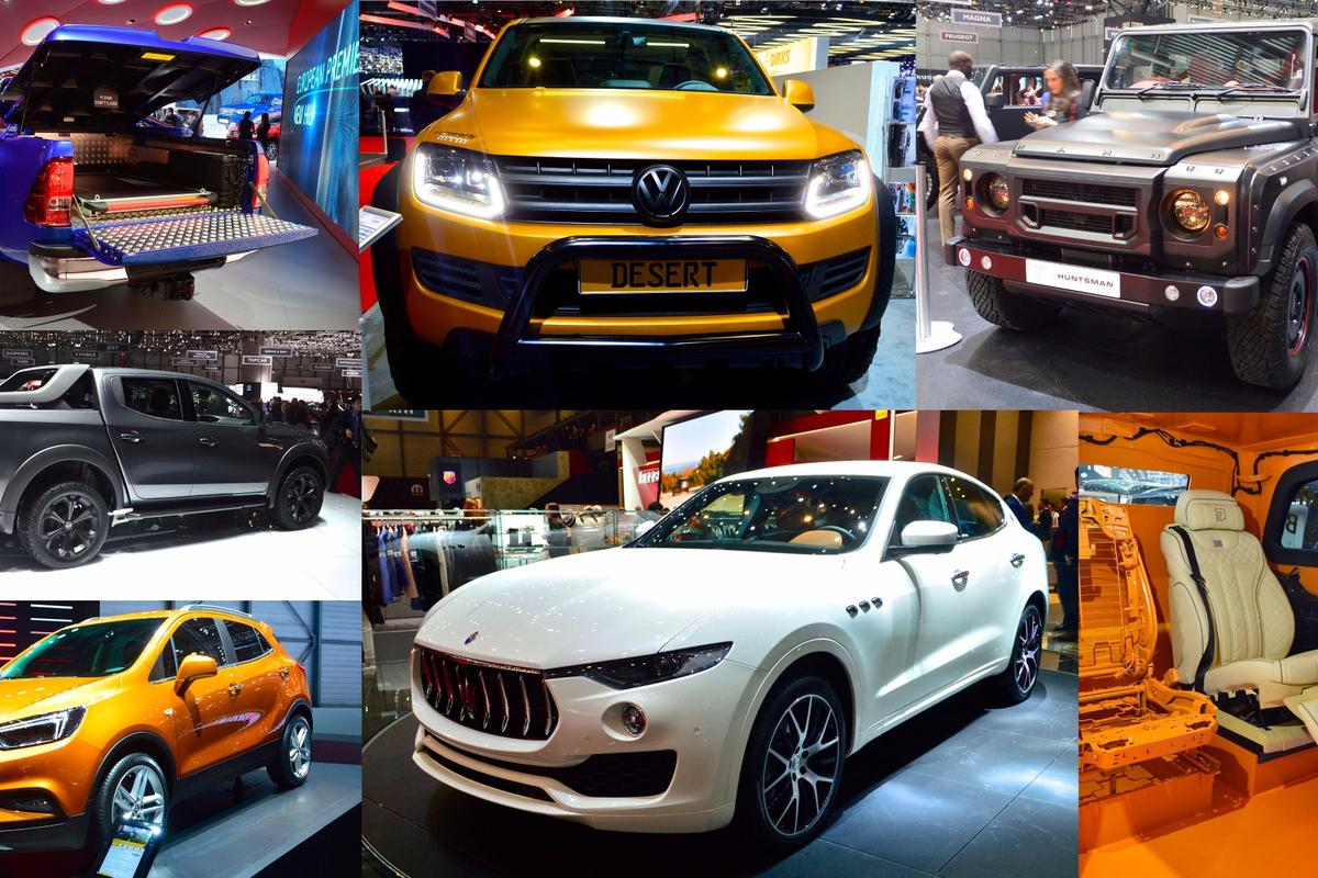 Trucks, SUVs and more, Geneva Motor Show 2016