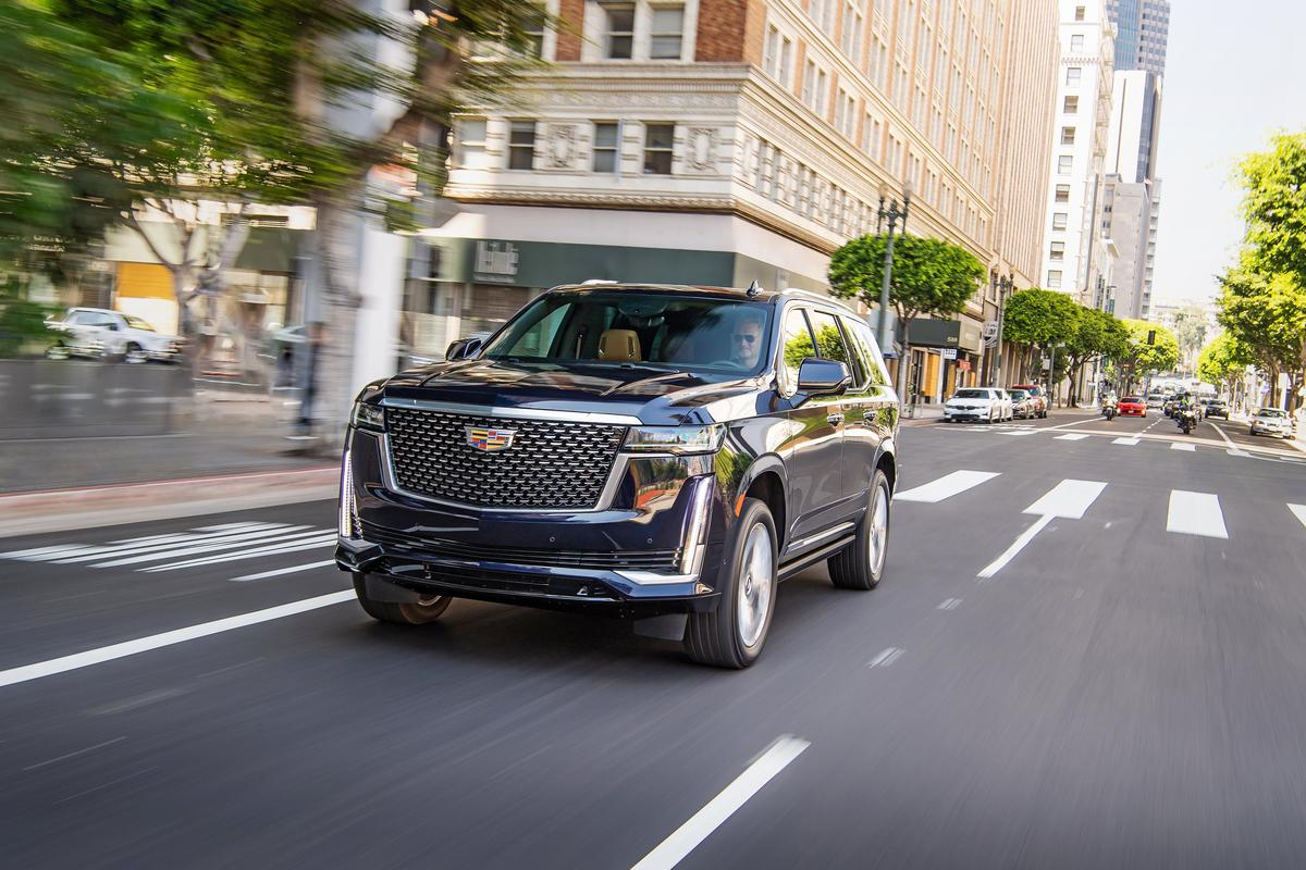 The 2021 Cadillac Escalade is a huge step forward for the storied luxury SUV