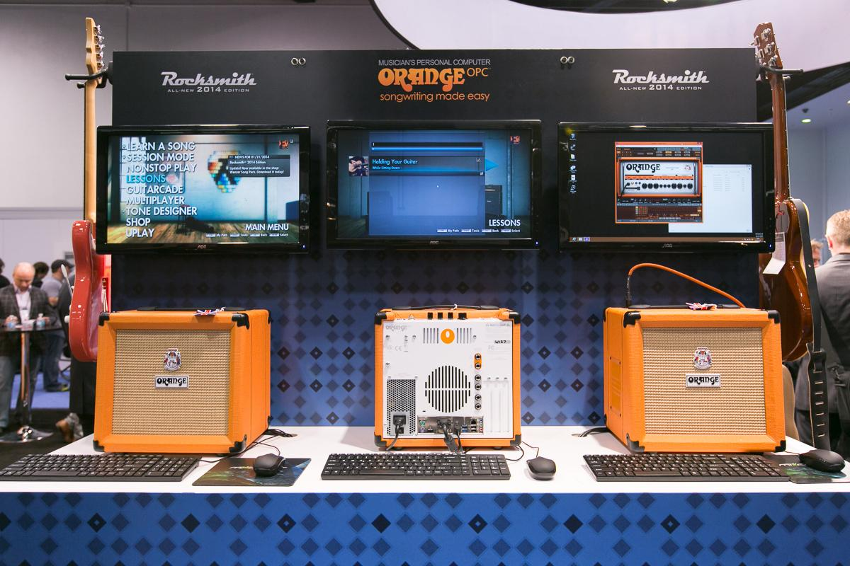 The three new OPC models from Orange Amps