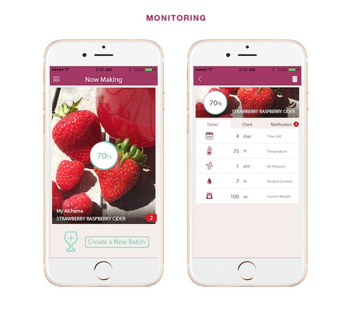 The app provides recipes and ideas for making your own concoctions