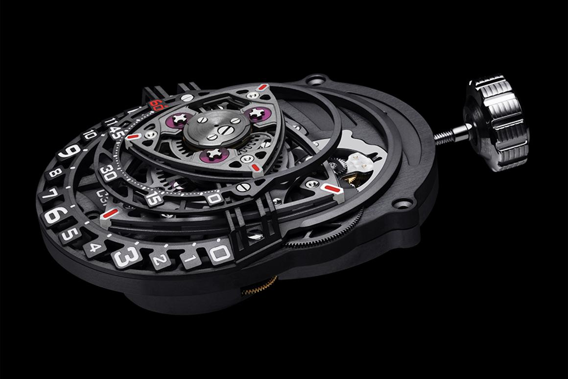 A Wankel engine for your wrist