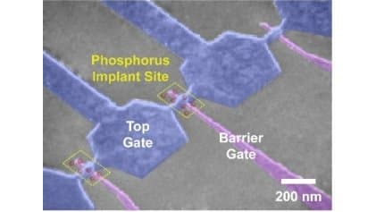 This single-atom transistor could prove extremely useful in the development of a better quantum bit for the next generation of personal computers.