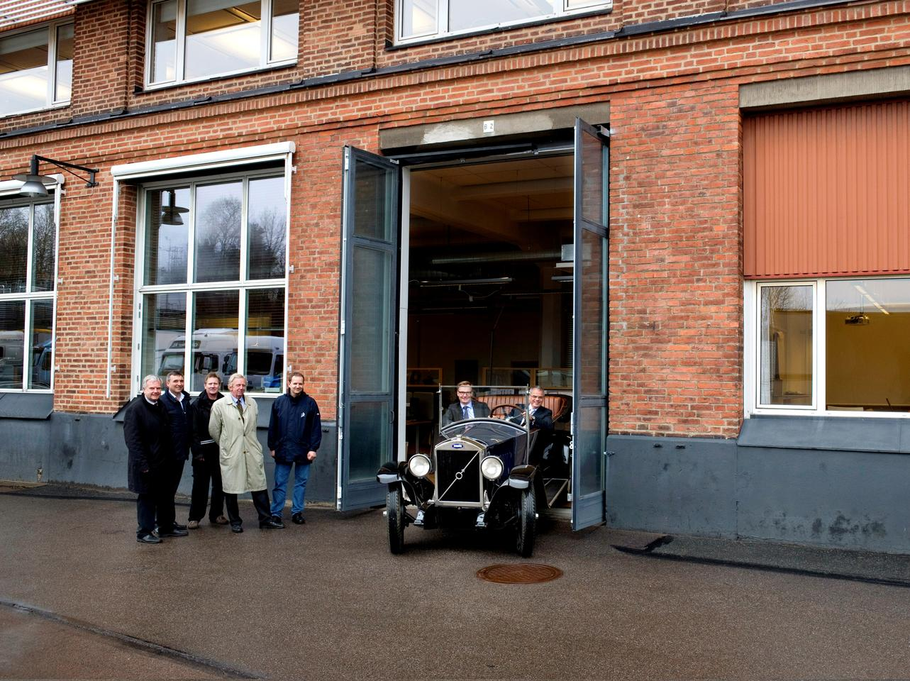 At 10am, April 14, 2012, the first mass-produced Volvo ÖV4 will be driven through the company gates in Göteborg, reenacting the birth of a famous marque