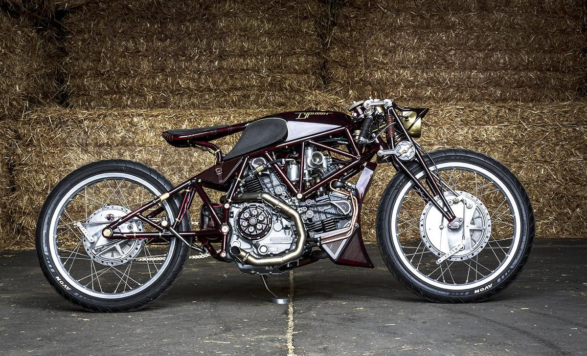 Old Empire Motorcycles Typhoon: a steampunk board-track superbike custom built without restrictions or restraint