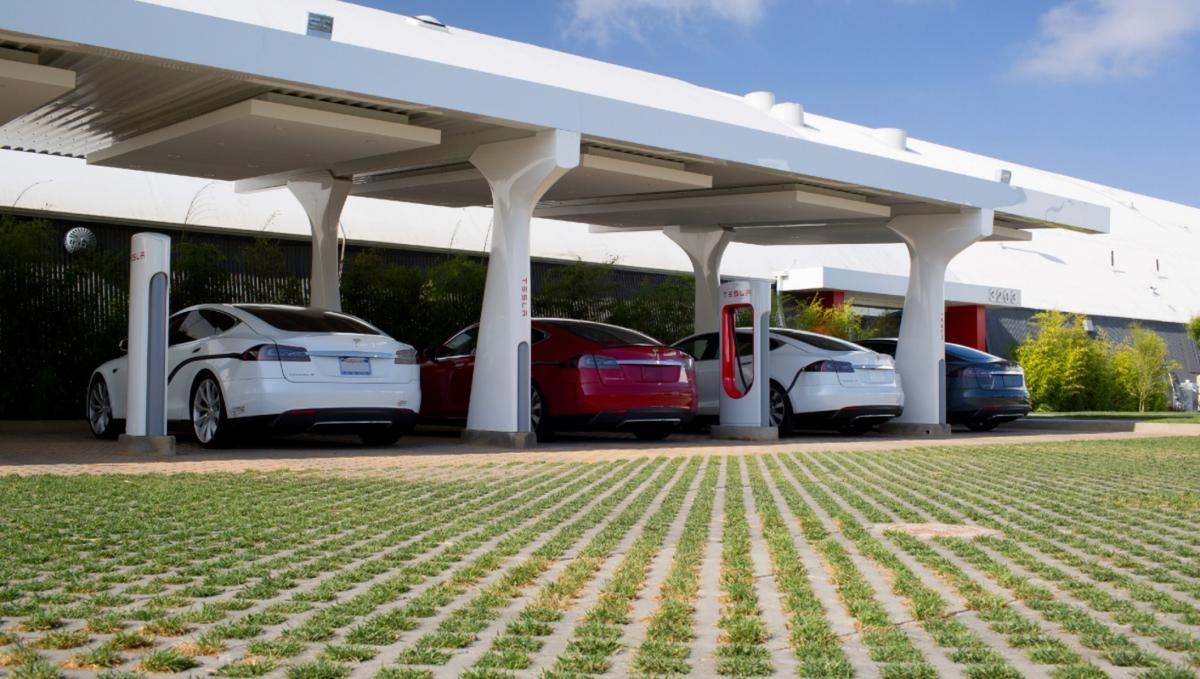 """Elon Musk has announced that Tesla is""""dramatically increasing"""" the number ofSuperchargers across the globe, particularly in Europe"""