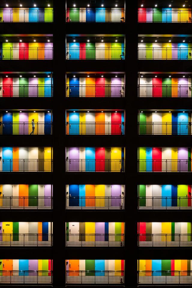Winner - Cities. Soho building on Odaiba artificial island, Tokyo, Japan