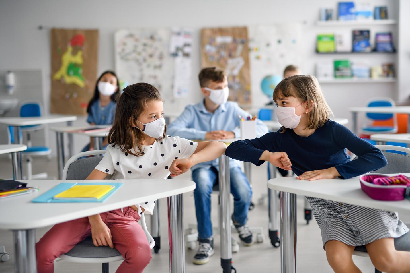 The new CDC research affirms mask mandates in schools are effective at reducing the spread of COVID-19